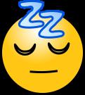 Sleeping-face
