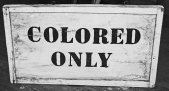 colored-only-sign