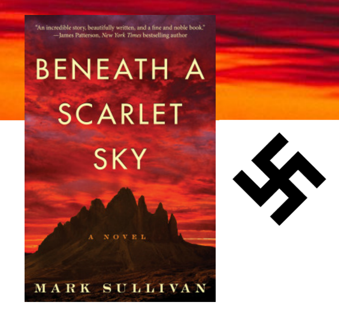 Beneath A Scarlet Sky A Novel An Itzey Bitzey Book Blog