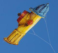 fire hydrant kite